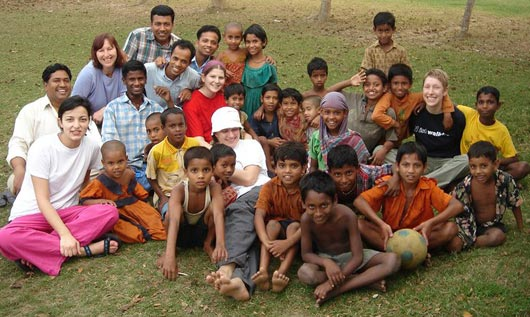 Kinder in Bangladesch
